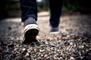 public-domain-images-free-stock-photos-shoes-walking-feet-grey-gravel-